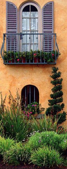 Italianate Balcony