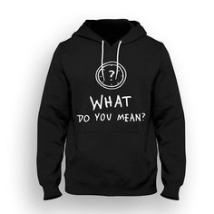 Justin Bieber - What do you mean? Hoodie (M, Black)