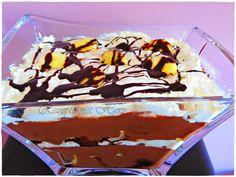 Thermomix - Rezepte mit Herz : Banana Chocolate Trifle
