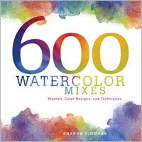 600 Watercolor Mixes: Washes, Color Recipes, and Techniques - Interweave.  Posted by Penny http://www.craftylady.com