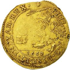 Right now on NumisCorner ➽ Philipp IV Souverain Ou Lion D'or ✓ Quality Expand your collection without delay ! Spanish Netherlands, Don Miguel, Gold Money, Gold And Silver Coins, Historical Monuments, World Coins, European History, Rare Coins, Gull