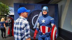 """#ThrowbackThursday - #CaptainAmerica reminding me that #WaltDisney's apartment at #Disneyland is for...""""important people"""" last #summer when I was in the early stages of moving here from #NorCal. """"My mom thinks I'm important."""" (He also admired my #Warriors #Cap). #DisneylandResort #Disneyland60 #DLR #MainStreetUSA #Tomorrowland #DubNation #CaptainAmericaCivilWar #Thor #Avengers #IronMan #SpiderMan #CaptainAmericaWinterSoldier #SuperheroHQ by chasinggeekdom"""
