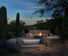 Deck made of pavers, Cave Creek, AZ