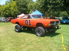 Rebuild the General Lee, boss it up!