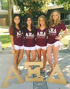Alpha Delta Xi // made by 224 Apparel #alphaxidelta #RecruitmentReady