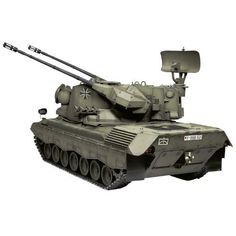 Amazon.com: German Flakpanzer Gepard Tank 1/16 Tamiya: Toys & Games