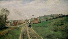 Camille Pissarro - La Gare de Lordship Lane, Dulwich, 1871