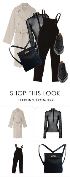 """""""Untitled #672"""" by zaraoutfits ❤ liked on Polyvore featuring Nili Lotan, MM6 Maison Margiela, ASOS, Hermès and Jil Sander"""
