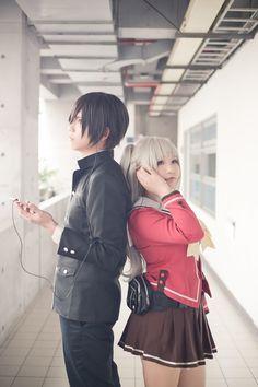 Yuu and Tomori (Charlotte)