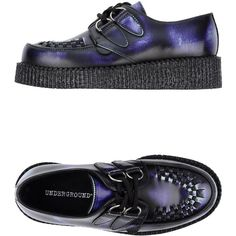 66525cd44bf Underground Lace-up Shoes ( 64) ❤ liked on Polyvore featuring shoes