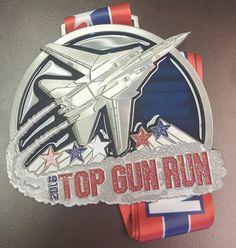 The 2016 Top Gun Run - Virtual Marathon - Will Run for Bling and Charity Virtual Run, Top Gun, Chevrolet Logo, Marathon, Charity, Guns, Banner, Bling, Running