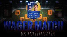 FIFA 14 TOTS MANDZUKIC WAGER MATCH !! FIFA ULTIMATE TEAM MATCH A SCOMMESSA