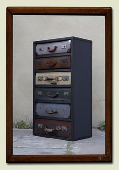 upcycling - suitcase chest
