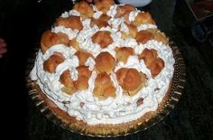 Italian Birthday Cake  The birthday cake is prepared by stuffing a sponge cake with mascarpone cream and garnish with chocolate cream puffs filled with custard and whipped cream unsweetened we retain it in the fridge until ready to serve.    Torta Compleanno - Le ricette di Buonissimo!