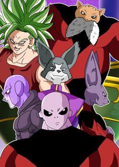 Dragon Ball Super - Universe Survival Saga 3 by Cheetah-King