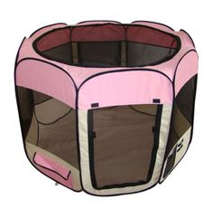 Best Pet Folding Play Pen.. For puppies, I need this for my new office so I can take Bentley to work with me!