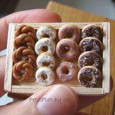 Miniature Donuts by PetitPlat - Stephanie Kilgast, via Flickr