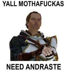 Dragon Age humor. Sebastian LOL!