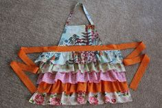 Frilly Apron: Completed Project