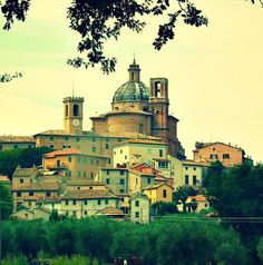 Monte San Vito - Tiny Town in Le Marche Region in Italy