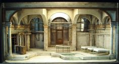 Scenic design by Marjorie Bradley Kellogg. Set Design Theatre, Stage Design, Contemporary Theatre, Theatrical Scenery, Building Art, Design Research, Stage Set, Scenic Design, Design Model