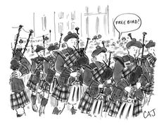 Bag Pipes, St. Patrick's Day and Free Bird.