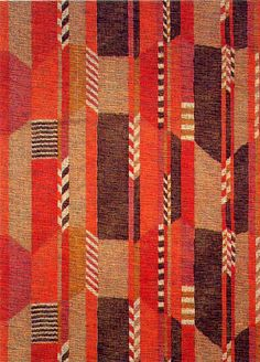 Unknown textile design, produced by Sanderson Fabrics in 1930.