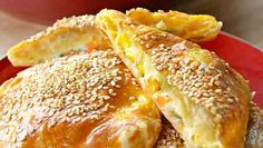 CUADROS DE HOJALDRE RELLENOS DE VEGETALES | Chef Oropeza Pan Relleno, French Toast, Cooking Recipes, Breakfast, Food, Recipe Books, Cookies, Pastries, Homemade Bagels