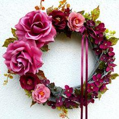 Summer Wreath, Floral Wreath, Wreaths, Boho, Decor, Floral Crown, Decoration, Door Wreaths, Bohemian