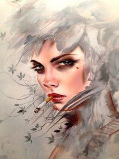 Brian M. Viveros #Brian_Viveros #Art