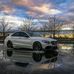 Sportiness combined with emotion and intelligence the C-Class Sedan facelift offers design and driving pleasure at. Fast Sports Cars, Sport Cars, Panamera Turbo S, Mercedes C63 Amg, Merc Benz, High Performance Cars, Lux Cars, Car Photography, Dream Cars