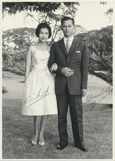 King and Queen of Thailand