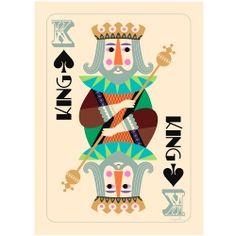 Poster THE KING - Ingela Arrhenius - Favoritsaker AB
