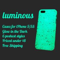 Luminous. iPhone Cases. Glow In the Dark