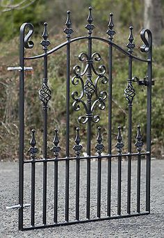 """Wrought Iron Metal Gate/Gates-TOP QUALITY- to fit 3ft 3"""" (991mm) opening (gap)"""