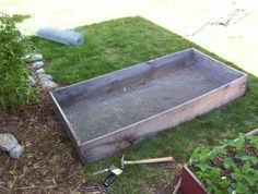 Building Raised Bed Gardening Beds (Step-by-step)  . .  build four new beds for a total cost of less than $30.. . with some simple plans and addon ideas.