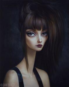 Surrealistas pinturas figurativas de Lori Earley