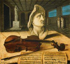 Giorgio de Chirico - Sala d'Apollo (Violon), 1920