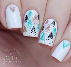 In seek out some nail designs and ideas for the nails? Listed here is our list of 11 must-try coffin acrylic nails for fashionable women. Fancy Nails, Love Nails, Trendy Nails, My Nails, Fabulous Nails, Gorgeous Nails, Pretty Nail Designs, Nail Art Designs, Nails Design