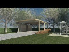 Clifford O. Reid, Architect, Modern Carport Design - YouTube