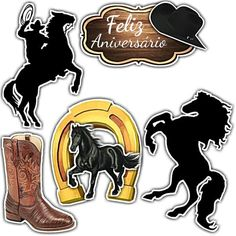 Cowgirl Party, Cowboy And Cowgirl, Western Theme Decorations, Horse Cake Toppers, Cowboy Cakes, Edible Printing, Western Parties, Horse Crafts, Girl Themes
