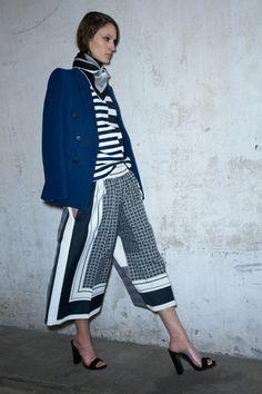 stripes and stripes and stripes via Céline #stylesaturday