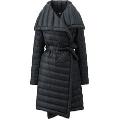 If House of Cards' Claire Underwood wore a quilted coat, this would be it. It's puffy without making you appear bloated, thanks to ultra-light down and a waist-cinching belt. Love Fashion, Winter Fashion, Milan Fashion, Korean Fashion, Fashion Trends, Cool Coats, Wrap Coat, Down Coat, Winter Jackets
