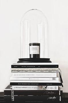 Noir et blanc : 15 idées déco pour un look scandinave très chic ! sur /decocrush/ | http://www.decocrush.fr