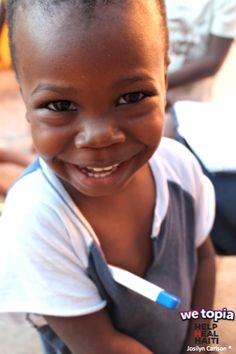 Joy given in WeTopia is keeping kids like Kenny active by providing the vitamins and medicines he needs to stay healthy