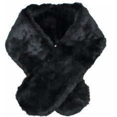 Faux Fur Black Cloche Scarf Stole Neck Wrap ($19) ❤ liked on Polyvore featuring accessories, scarves, black, heavy, wrap shawl, long faux fur stole, faux fur stole, fake fur scarves and fake fur shawl