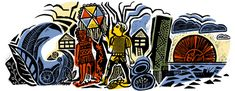 Dia das Bruxas 2004 #GoogleDoodle