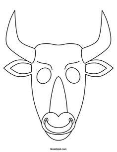Minotaur Mask to Color Printable Masks, Free Printable, Printables, Themed Parties, Party Themes, Minotaur Costume, Percy Jackson Lightning Thief, Percy Jackson Party, School Displays
