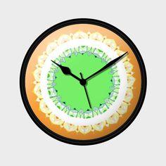 Mandala Art | Republic Day Wall Clock | Artist : Amulya Jayapal | PosterGully