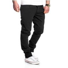 >> Click to Buy << Men'S Trousers 2017 New Four Seasons High Quality Casual Trousers Fashion Solid Color Washed Slim Casual Pants #Affiliate